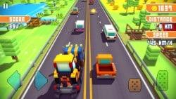 بازی ساده اندروید رانندگی