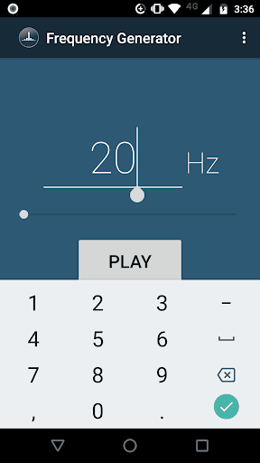 Frequency Sound Generator | APK Download for Android