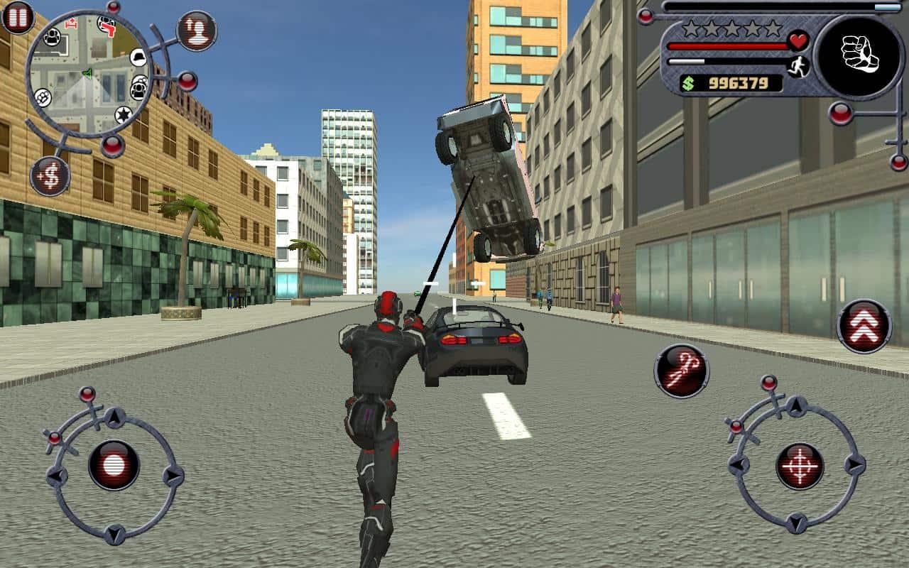 Rope Hero app