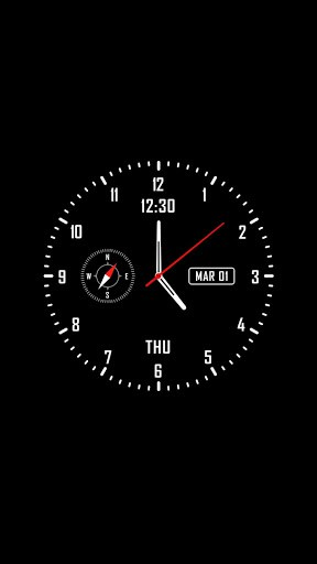Analog clock & watch face live wallpaper APK Download for