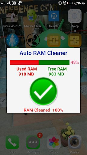 Auto RAM Cleaner app for android | APK Download for Android