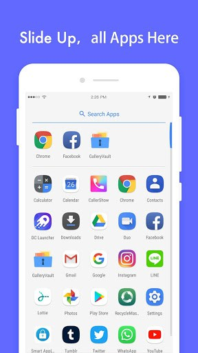 DC Launcher app for android   APK Download for Android