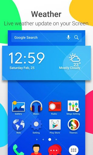Mega Launcher : Home Screen for android | APK Download for