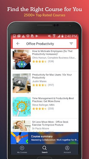 Udemy for Business app for android | APK Download for Android