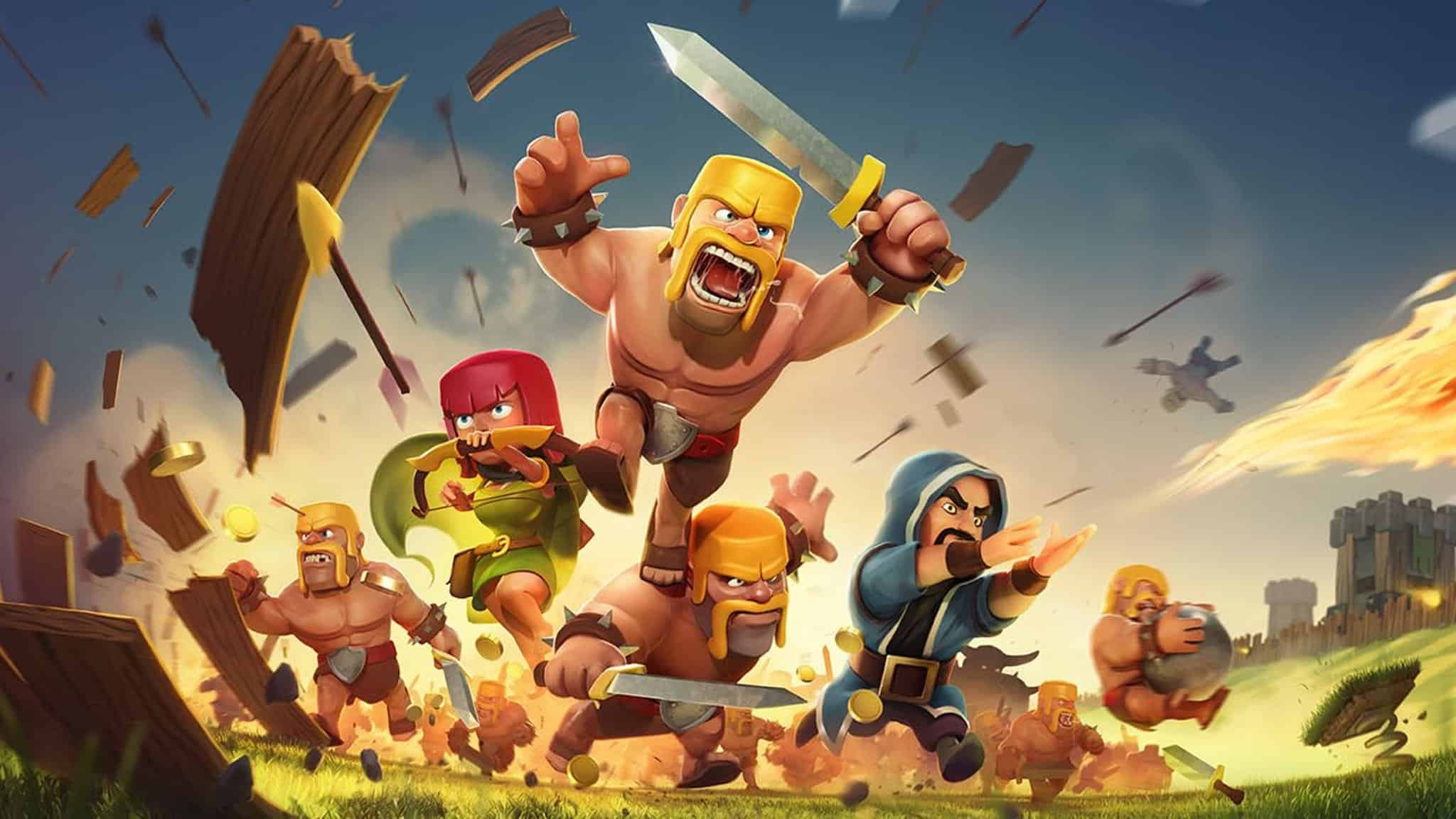 Clash of Clans App for iPhone-official