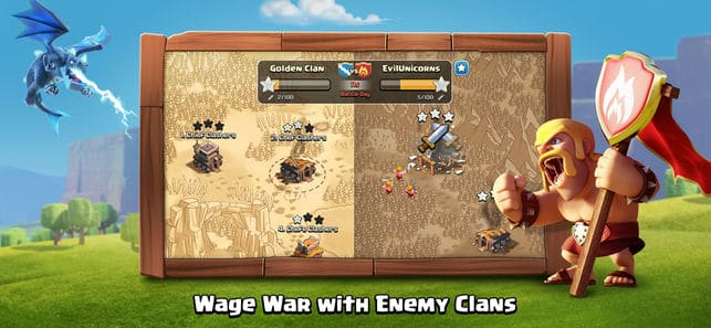 Clash of Clans App for iPhone