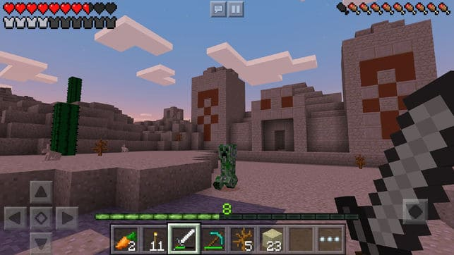 Minecraft App for iPhone-ios