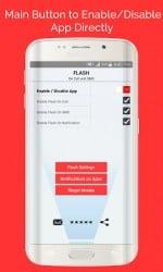 Apk Apps Flash On Call 및 SMS 1.12 스크린 샷 5
