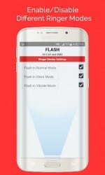 Apk Apps Flash On Call and SMS 1.12 Screenshot 5