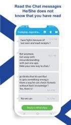 Apk Apps Hide - Blue Ticks ou Vu pour la dernière fois, Photos et vidéos 7.4 Screenshot 4