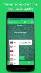 Apk-apps Direct klikken om te chatten 1.1.4 Screenshot 2