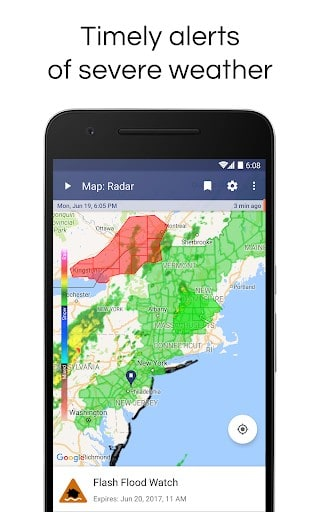 Weather Radar & Alerts | APK Download for Android