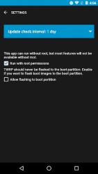 Apk Apps Aplicación TWRP oficial 1.21 Captura de pantalla 1