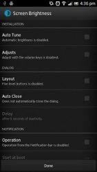 Apk Apps Screen Brightness 3.1.0 Screenshot 7