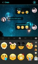 Apk Apps Simple Neon Blue Future Tech Keyboard
