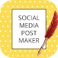 Social Media Post Maker & Graphic Design