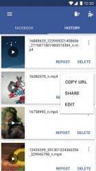 Apk Apps Video Downloader สำหรับ Facebook Video Downloader 1.1.1 สกรีนช็อต 4