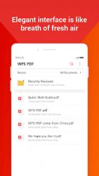 Apk Apps WPS PDF- lite PDF Reader, Viewer & Editor Free 1.5 Screenshot 3