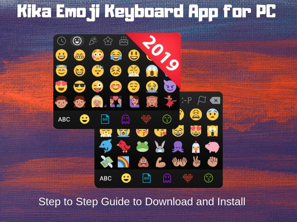 Kika Emoji Keyboard for PC