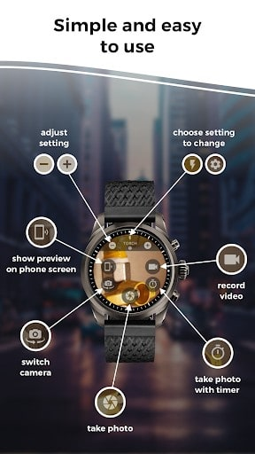 Camera Remote: Wear OS, Galaxy Watch, Gear S3 App | APK Download For