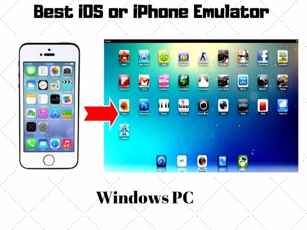 iPhone iOS Emulator لأجهزة الكمبيوتر التي تعمل بنظام Windows