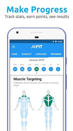 JEFIT Workout Tracker, Weight Lifting, Gym Log App | APK