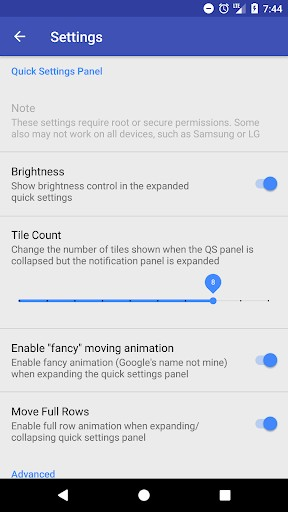 Custom Quick Settings | APK Download for Android