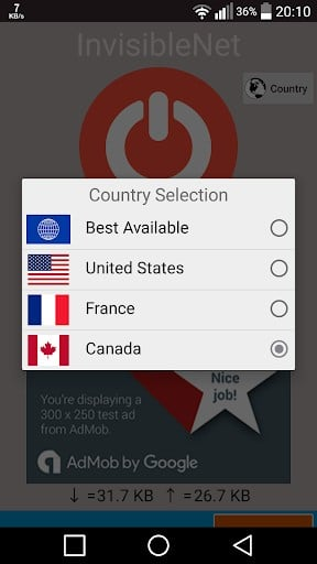 Invisible NET Free VPN - Fast VPN proxy | APK Download For