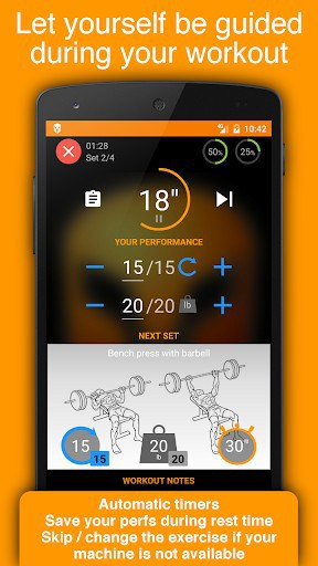 Workout Tracker & Gym Trainer | APK Download for Android