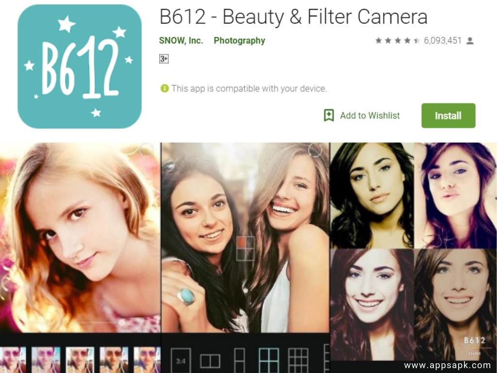 B612 Best Beauty Camera App