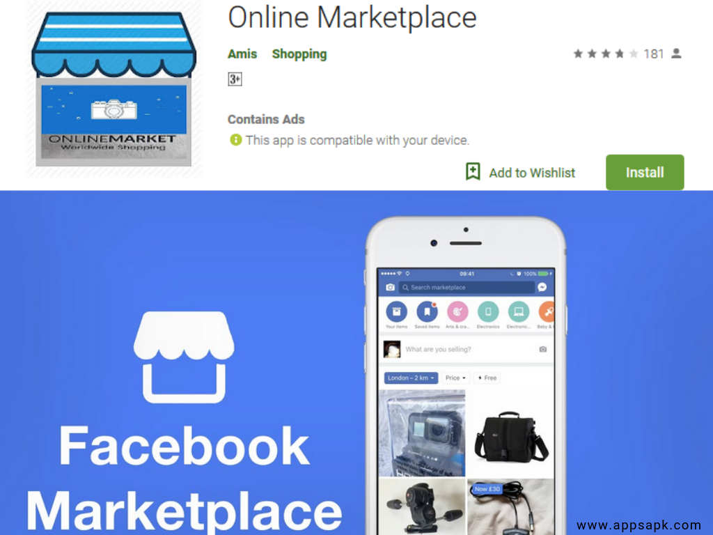 Facebook Marketplace Android Shopping App