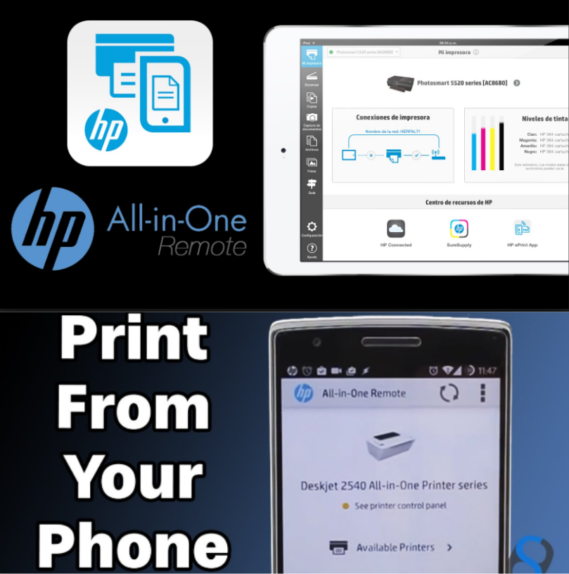 HP All-in-One Printer Remote.