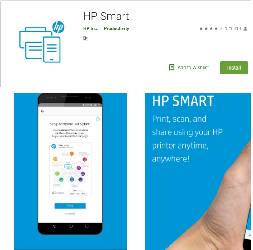 HP Smart Printer Remote for android