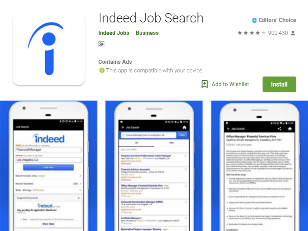 Indeed App
