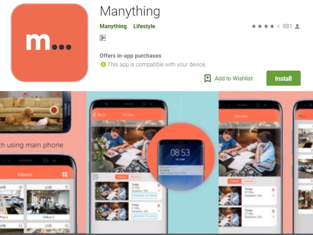 android ဖုန်းအဘို့အပလီကေးရှင်း Manything