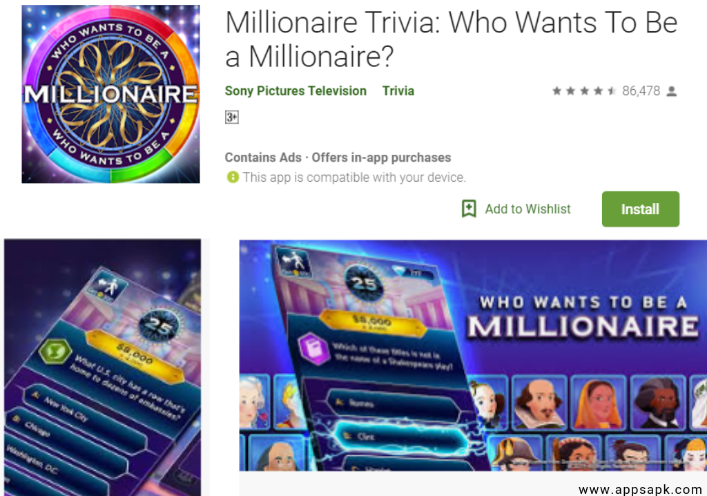 Millionaire Best Quiz Apps for Android