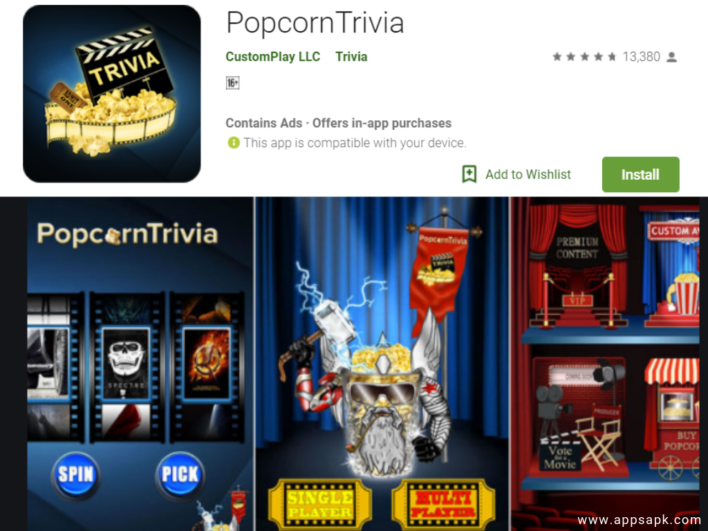 PopcornTrivia Quiz App