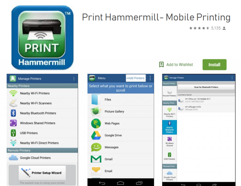 Print Hammermill for android