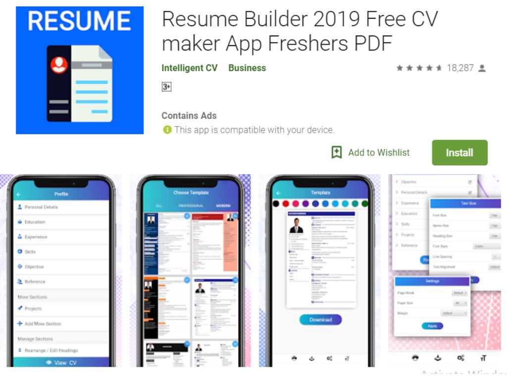 Resume Builder 2019 Free Resume Maker