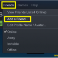 How to Add Friends on Steam?
