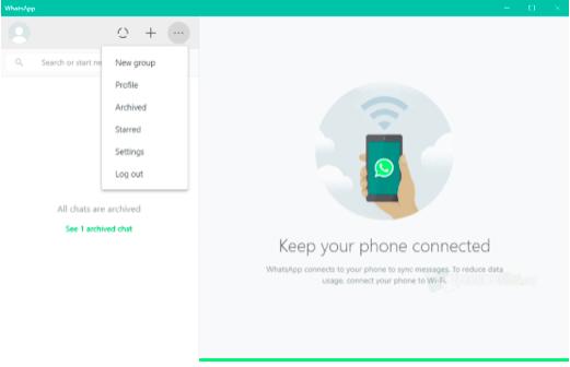 Whatsapp Web ကိုဝင်မည်