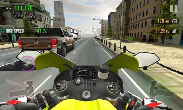 traffic Rider Mod APK ကို