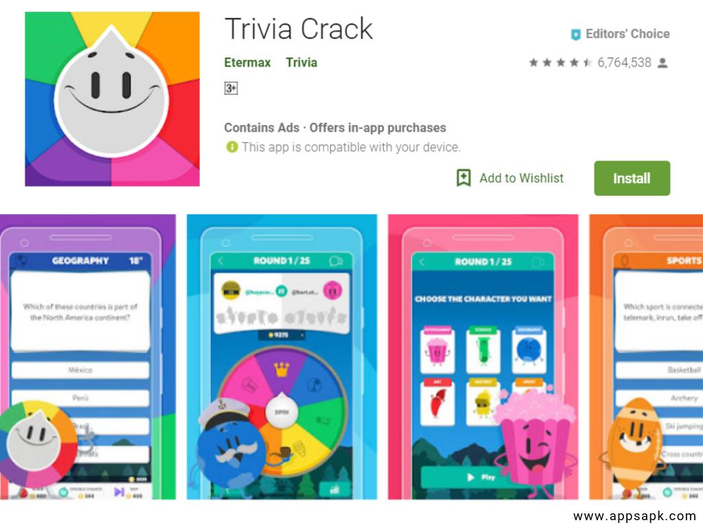 Trivia Crack Quiz App per Android