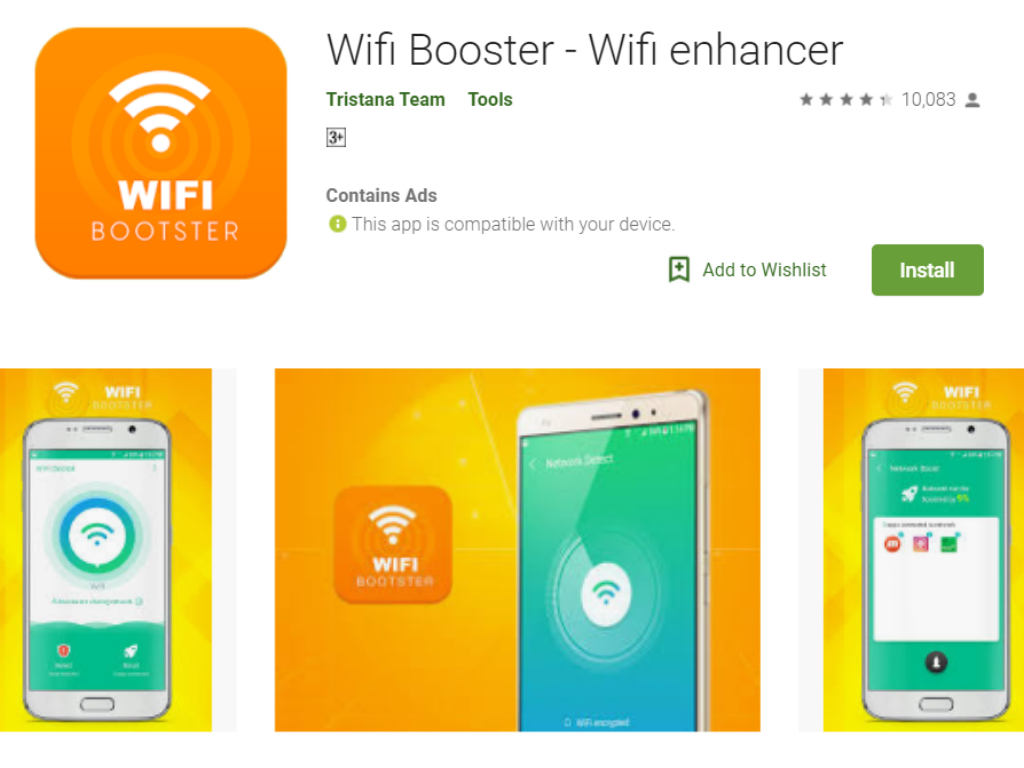 Wi-Fi Booster App for Android