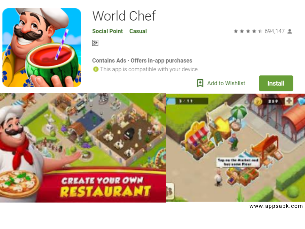 Best Restaurant Games Apps