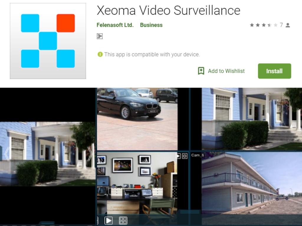 Xeoma家庭安全应用程序
