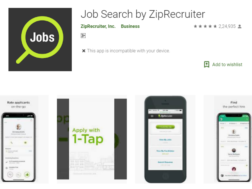 free resume maker for android