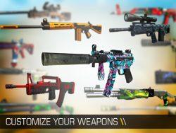 بازی جنگی با تفنگ های مختلف