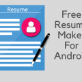 Top Free Resume Maker for Android All Info Here