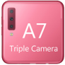 Galaxy A7 Camera - Triple caméra